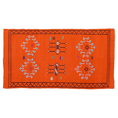 Moroccan Cactus Silk Rug, 8' x 4'6''