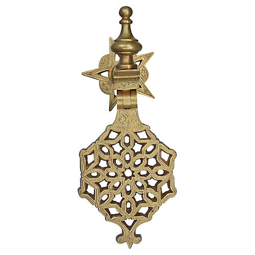 Moroccan Door Knocker w/ Ornate Details
