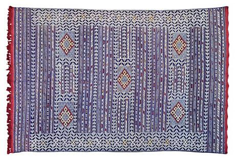 Moroccan Rug, 9' x 6'4''