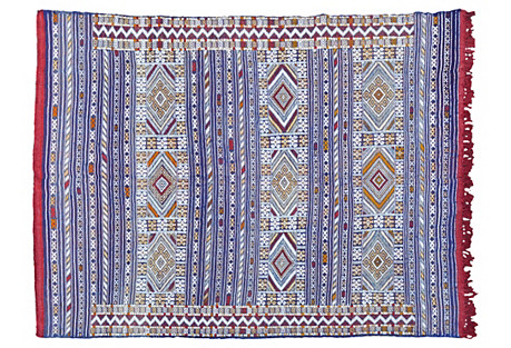Moroccan Berber-Diamonds Rug, 8' x 5'8''