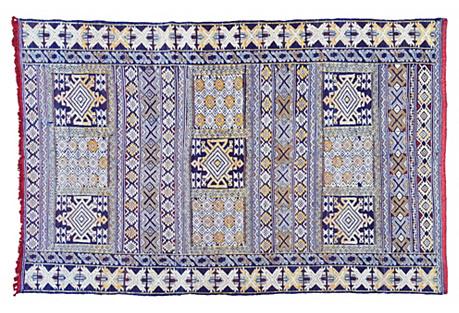 Moroccan Rug, 7'9'' x 5'