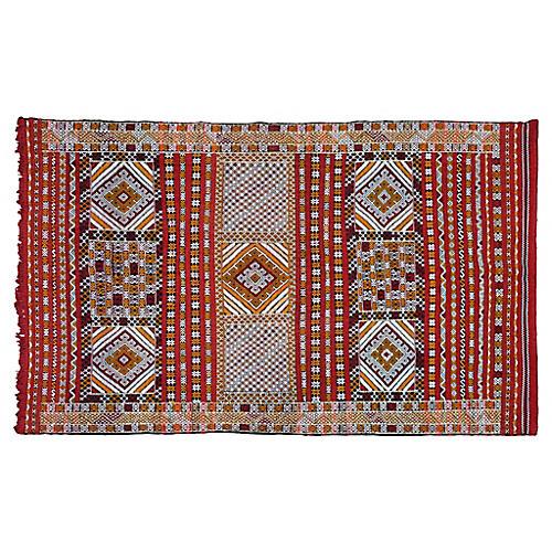 "Moroccan Rug, 6'11'' x 9'9"""