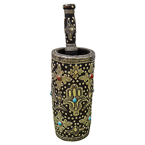 Handmade Moroccan Berber Mortar & Pestle