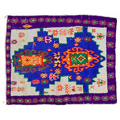 Moroccan Rug, 4'2'' x 5'6''