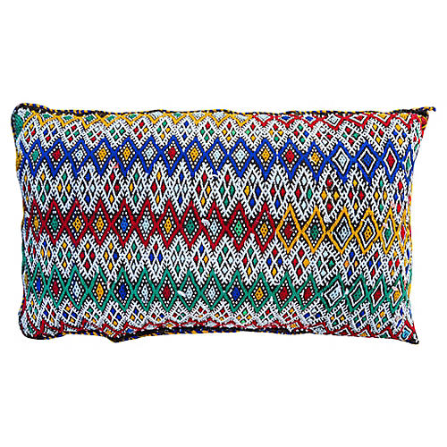 Colorful Moroccan Pillow Cover