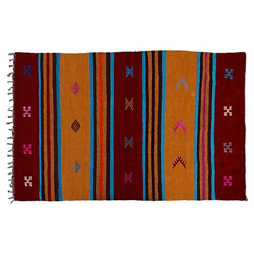 Moroccan Rug, 3' x 5'