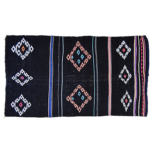 "Moroccan Rug, 3'7"" x 5'10"""