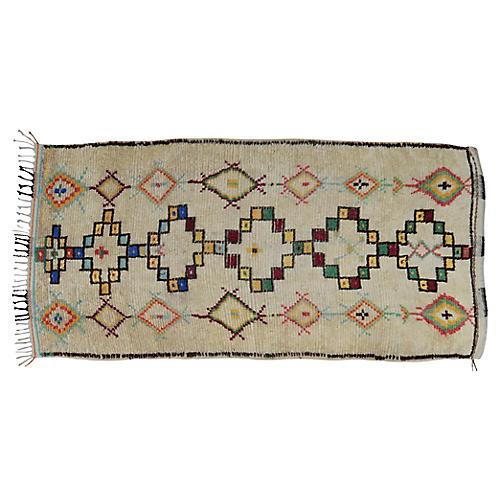 Moroccan Rug, 4'7'' x 9'2''