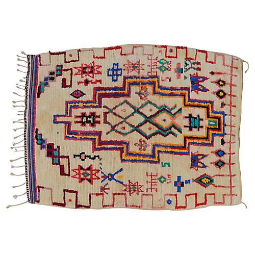 Moroccan Rug, 3'11'' x 5'5''