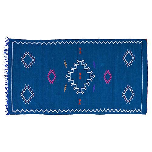 "Moroccan Silk Rug, 3'6"" x 6'4"""
