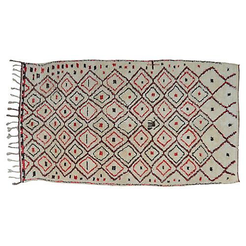 Moroccan Rug, 5'6'' x 10'2'
