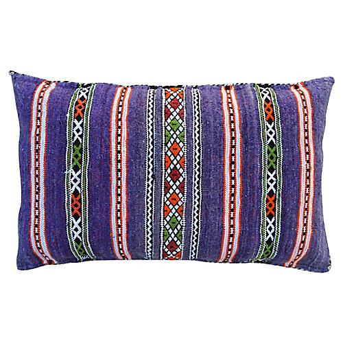 Purple Moroccan Pillow