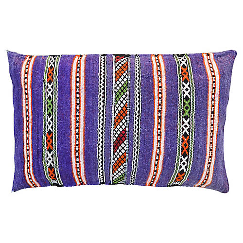 Purple & Orange Moroccan Pillow Sham