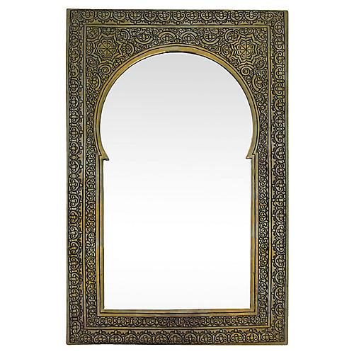 Moroccan Engraved Mirror