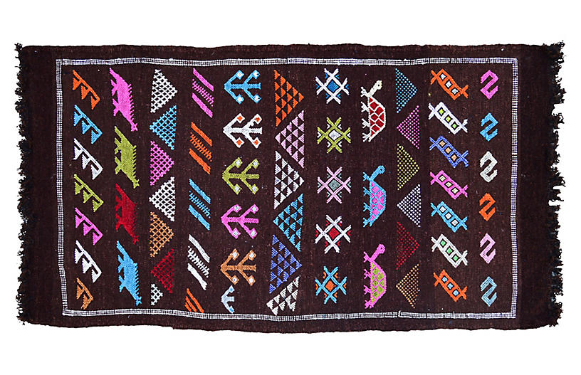 Moroccan Rug, 3'6