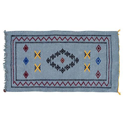 "Moroccan Rug, 1'8"" x 3'3"""