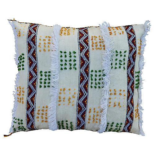 Moroccan Berber Handira Pillow Sham