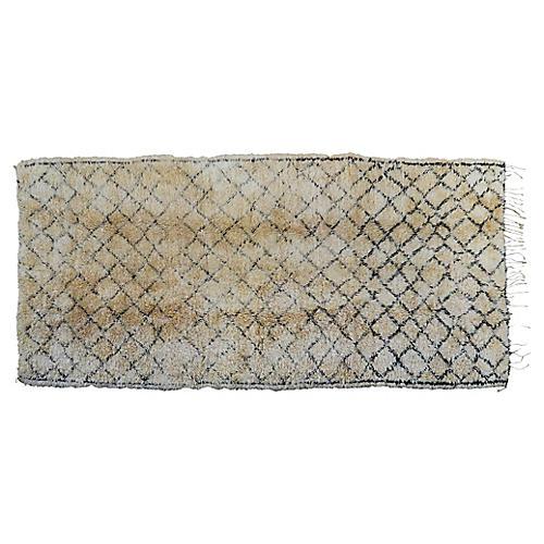 Moroccan Rug, 6'9'' x 14''