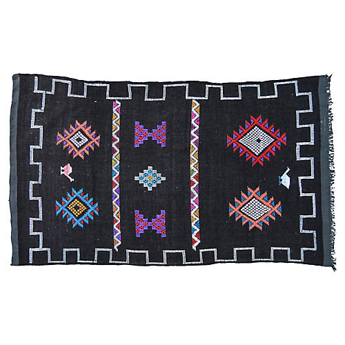Moroccan Rug, 2'8'' x 5'