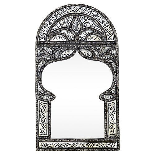 Moroccan Engraved Wall Mirror
