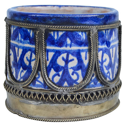 Blue Moroccan Catchall