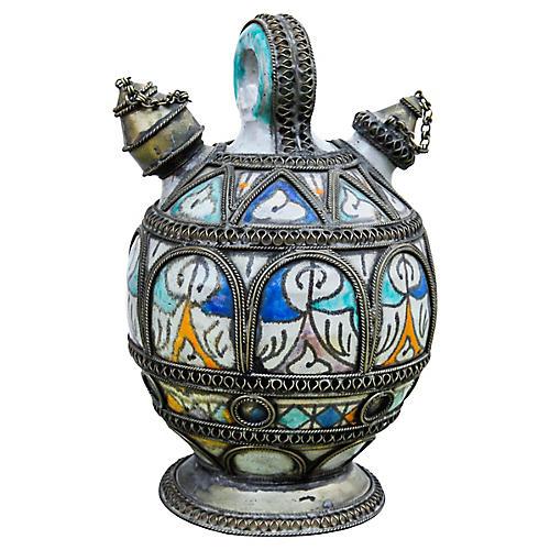 Antique Moorish Water Vessel