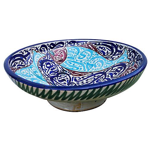 Antique Arabesque Bowl