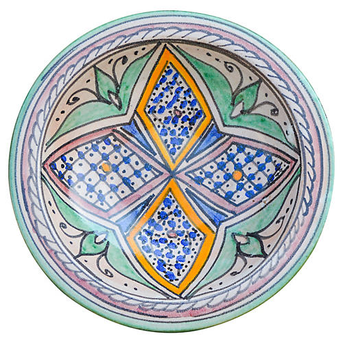 Andalusian Ceramic Wall Plate