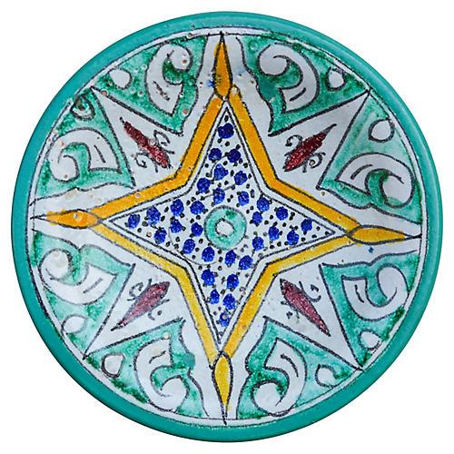 Moorish Ceramic Wall Plate