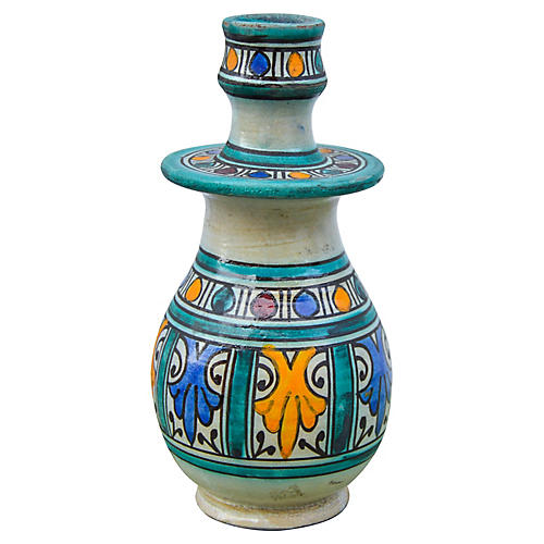 Andalusian Ceramic Candleholder