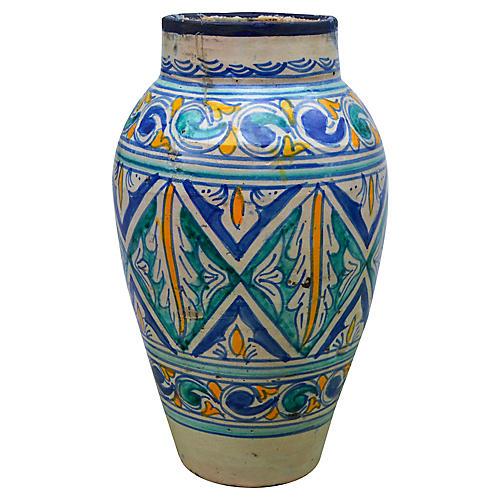 Andalusian Ceramic Vase