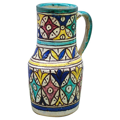 Andalusian Ceramic Pitcher
