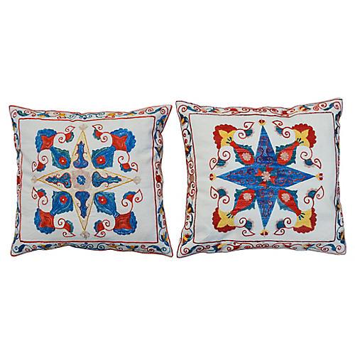 Geometric Pattern Pillows, Pr