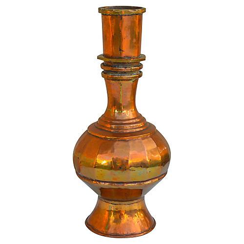 Midcentury Brass Vase