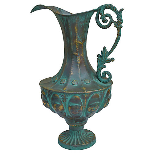 Antique French Bronze Vase