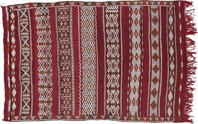 "Moroccan Berber Kilim, 8'3"" x 5'3"""