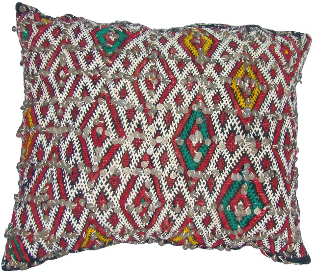 Moroccan Berber Diamond Pillow Sham