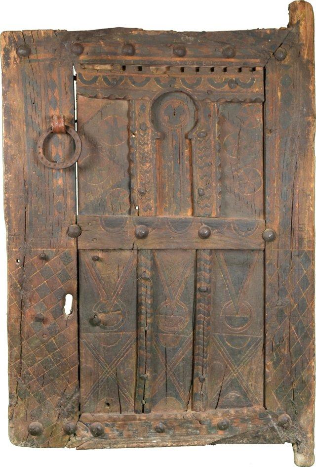 Antique Moroccan Tuareg Door