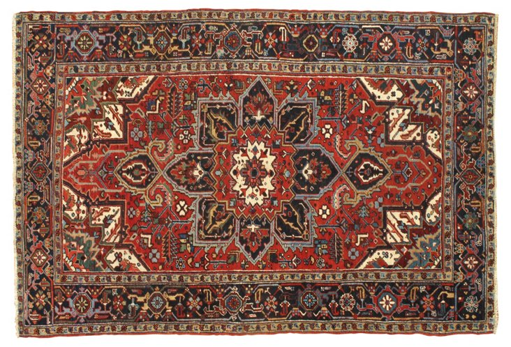 Persian Heriz, 6' x 9'