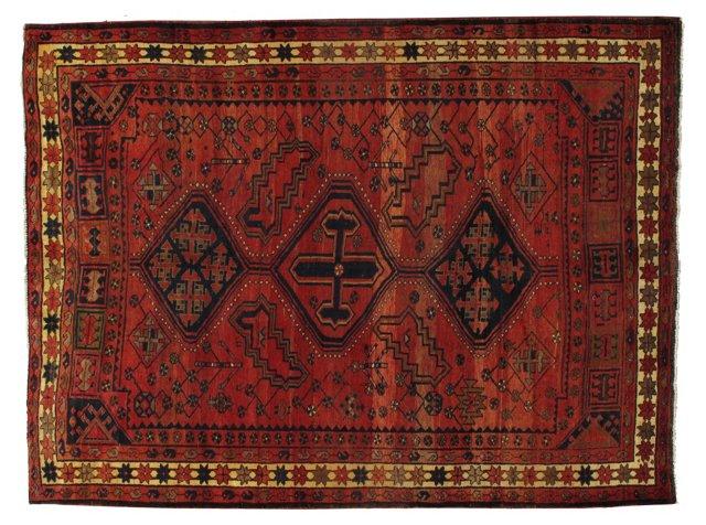 Persian Kurdish Rug, 9'6'' x 7'1''