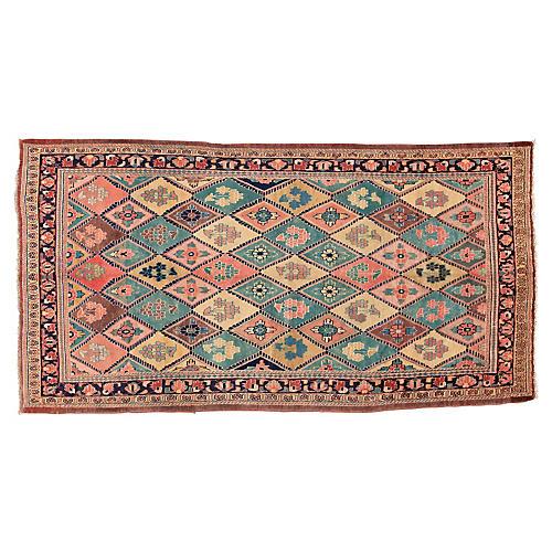 Antique Persian Mahal Rug, 5'4'' x 10'