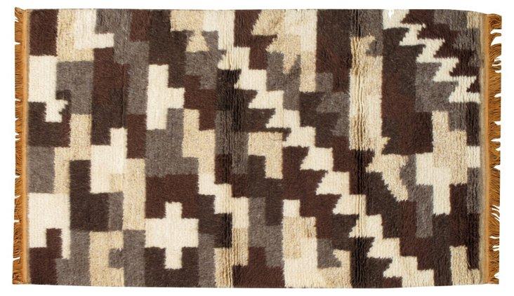 Geometric Moroccan Rug, 3' x 5'