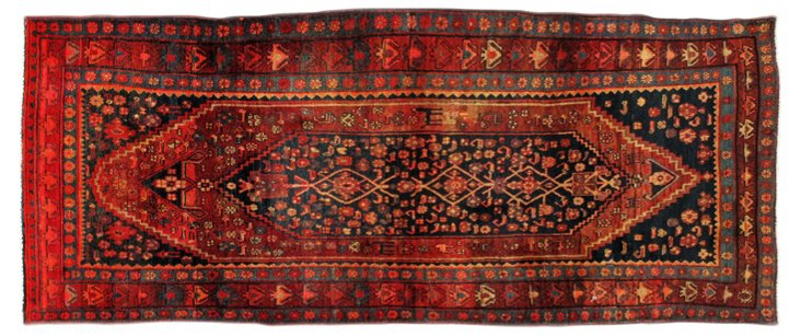 "Northwest Persian Rug, 3'10"" x 9'5"""