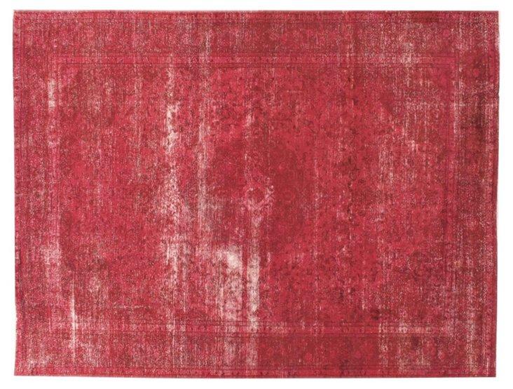 "Antique Tabriz Carpet,  9'9"" x 12'10"""