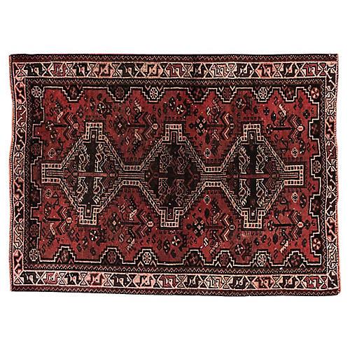 "Antique Persian Shiraz, 3'9"" x 5'"