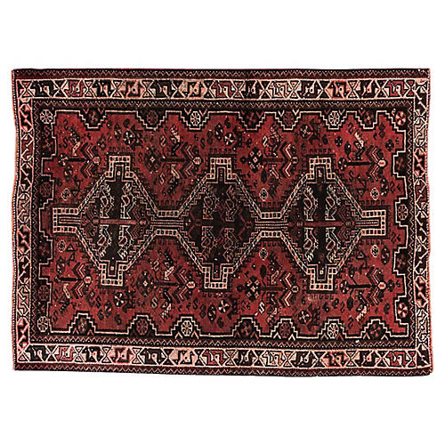 "Antique Persian Shiraz, 3'9"" x 5'"