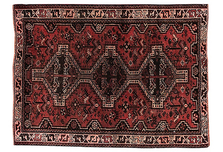 Antique Persian Shiraz, 3'9