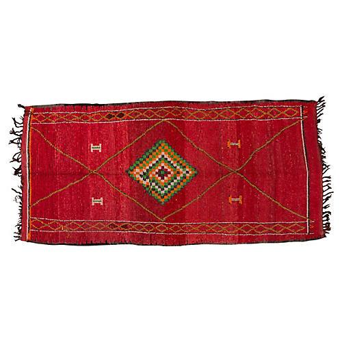 "Moroccan Rug, 5' x 10'5"""