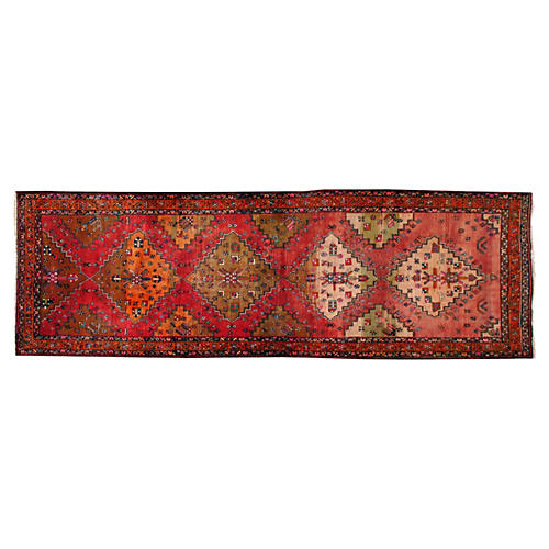 "Turkish Rug, 4'4"" x 13'10"""