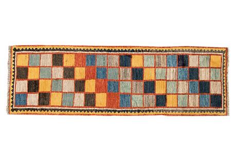 Persian Gabbeh Rug, 2'10